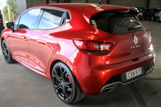2014 Renault Clio IV B98 R.S. 200 EDC Sport Red 6 Speed Sports Automatic Dual Clutch Hatchback