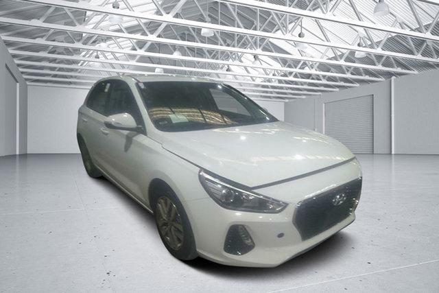 Used Hyundai i30 PD2 MY19 Active, 2019 Hyundai i30 PD2 MY19 Active Polar White 6 Speed Automatic Hatchback