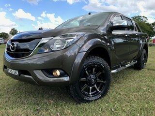 2018 Mazda BT-50 UR0YG1 XTR Bronze 6 Speed Sports Automatic Utility