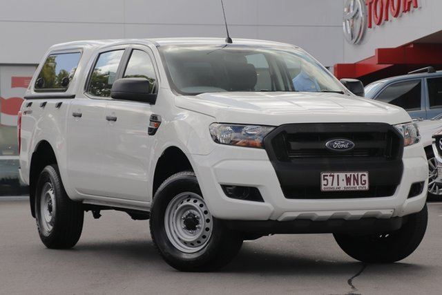 Used Ford Ranger PX MkII XL Double Cab 4x2 Hi-Rider, 2016 Ford Ranger PX MkII XL Double Cab 4x2 Hi-Rider White 6 Speed Sports Automatic Utility