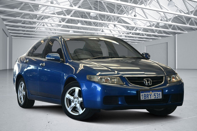 Used Honda Accord  Euro, 2004 Honda Accord Euro Blue 6 Speed Manual Sedan