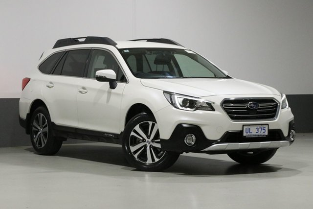 Used Subaru Outback MY18 2.5i AWD, 2018 Subaru Outback MY18 2.5i AWD Pearl White Continuous Variable Wagon
