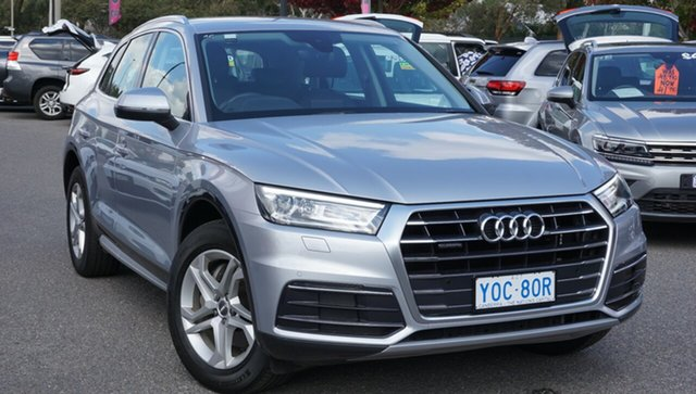 Used Audi Q5 FY MY18 TDI S Tronic Quattro Ultra design, 2018 Audi Q5 FY MY18 TDI S Tronic Quattro Ultra design Silver 7 Speed Sports Automatic Dual Clutch