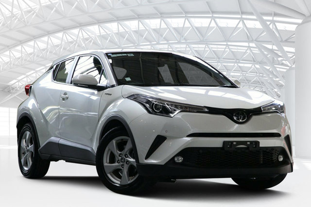 Used Toyota C-HR NGX10R Update (2WD), 2018 Toyota C-HR NGX10R Update (2WD) White Continuous Variable Wagon