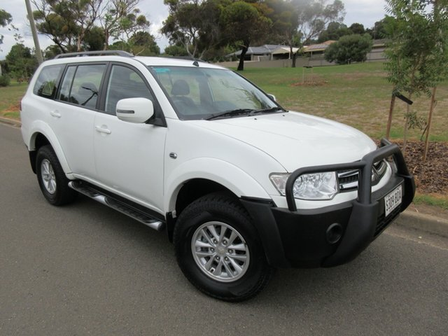 Used Mitsubishi Challenger PB (KH) MY13 , 2013 Mitsubishi Challenger PB (KH) MY13 White 5 Speed Sports Automatic Wagon