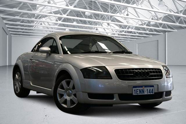 Used Audi TT MY99 , 2002 Audi TT MY99 Silver 5 Speed Manual Coupe