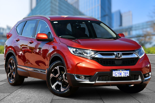Used Honda CR-V RW MY19 VTi-S 4WD, 2019 Honda CR-V RW MY19 VTi-S 4WD Red 1 Speed Constant Variable Wagon