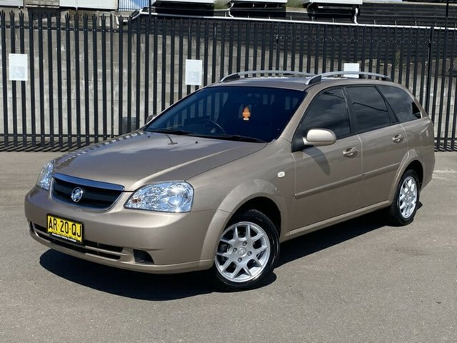 Used Holden Viva JF MY07 , 2007 Holden Viva JF MY07 Gold 4 Speed Automatic Wagon
