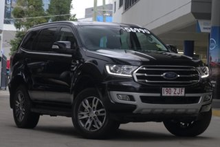 2019 Ford Everest UA II 2019.00MY Trend 4WD Shadow Black 6 Speed Sports Automatic Wagon
