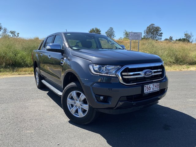 Used Ford Ranger PX MkIII 2019.75MY XLT Pick-up Double Cab, 2019 Ford Ranger PX MkIII 2019.75MY XLT Pick-up Double Cab Meteor Grey 10 Speed Sports Automatic