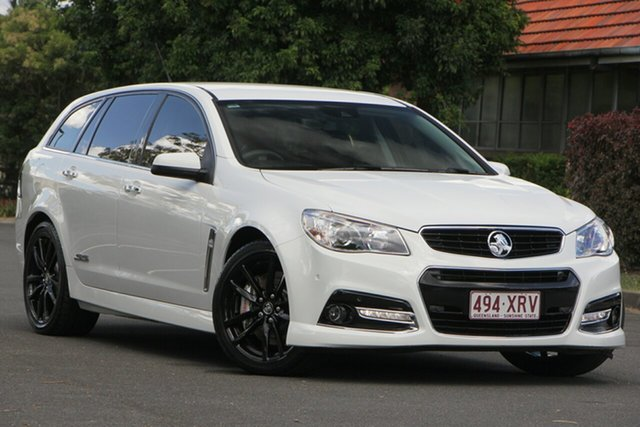 Used Holden Commodore VF MY14 SS V Sportwagon Redline, 2014 Holden Commodore VF MY14 SS V Sportwagon Redline White 6 Speed Sports Automatic Wagon