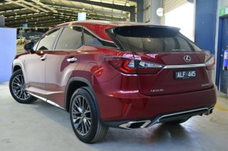 2016 Lexus RX200T AGL20R MY17 F-Sport Red 6 Speed Automatic Wagon.