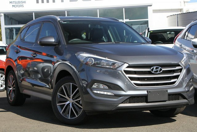 Used Hyundai Tucson TL Active X 2WD, 2016 Hyundai Tucson TL Active X 2WD Pepper Gray 6 Speed Sports Automatic Wagon
