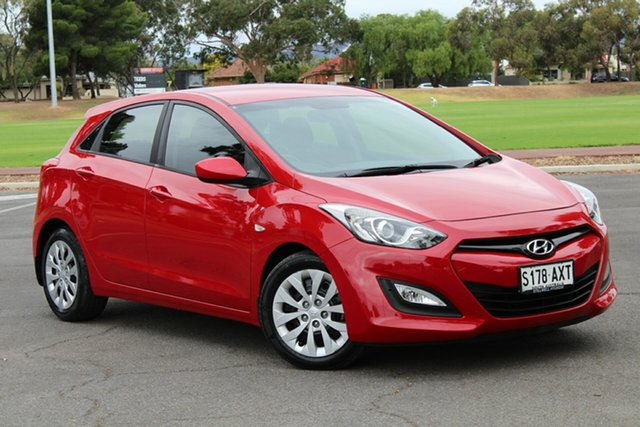 Used Hyundai i30 GD Active, 2013 Hyundai i30 GD Active Red 6 Speed Sports Automatic Hatchback