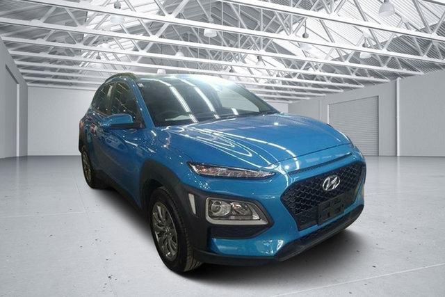 Used Hyundai Kona OS.2 MY19 GO (FWD), 2019 Hyundai Kona OS.2 MY19 GO (FWD) Blue Lagoon 6 Speed Automatic Wagon