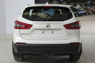 2018 Nissan Qashqai J11 MY18 ST Ivory Pearl Continuous Variable Wagon