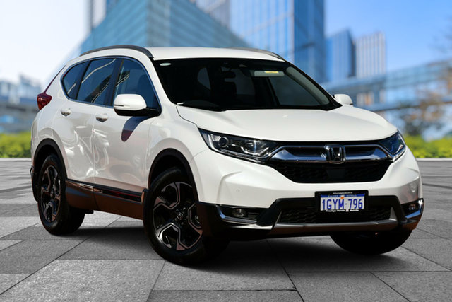 Used Honda CR-V RW MY19 VTi-S 4WD, 2019 Honda CR-V RW MY19 VTi-S 4WD White 1 Speed Constant Variable Wagon