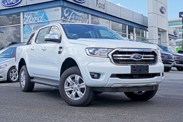 Used Ford Ranger PX MkIII 2019.00MY XLT Pick-up Double Cab, 2018 Ford Ranger PX MkIII 2019.00MY XLT Pick-up Double Cab White 6 Speed Manual Utility