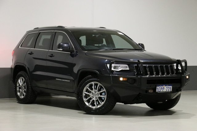 Used Jeep Grand Cherokee WK MY14 Laredo (4x4), 2014 Jeep Grand Cherokee WK MY14 Laredo (4x4) Grey 8 Speed Automatic Wagon
