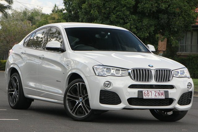 Used BMW X4 F26 xDrive30d Coupe Steptronic, 2015 BMW X4 F26 xDrive30d Coupe Steptronic White 8 Speed Automatic Wagon
