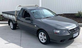 2007 Ford Falcon BF Mk II XL Ute Super Cab Grey 4 Speed Sports Automatic Utility.