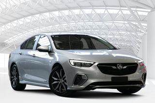 2018 Holden Commodore ZB RS Silver 9 Speed Automatic Liftback.
