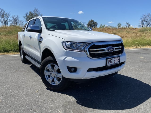 Used Ford Ranger PX MkIII 2019.75MY XLT Pick-up Double Cab, 2019 Ford Ranger PX MkIII 2019.75MY XLT Pick-up Double Cab Arctic White 6 Speed Sports Automatic