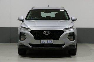 2018 Hyundai Santa Fe DM5 MY18 Active CRDi (4x4) Typhoon Silver 6 Speed Automatic Wagon.