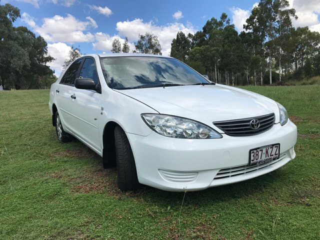 Used Toyota Camry MCV36R Upgrade Altise, 2005 Toyota Camry MCV36R Upgrade Altise Diamond White 4 Speed Automatic Sedan