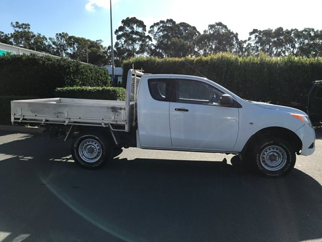 Used Mazda BT-50 UP0YF1 XT Freestyle 4x2 Hi-Rider, 2012 Mazda BT-50 UP0YF1 XT Freestyle 4x2 Hi-Rider 6 speed Manual Cab Chassis