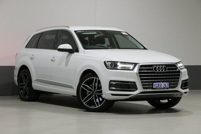 Used Audi Q7 4M MY17 3.0 TDI Quattro, 2017 Audi Q7 4M MY17 3.0 TDI Quattro White 8 Speed Automatic Tiptronic Wagon