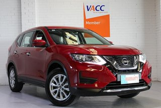 2017 Nissan X-Trail T32 Series II ST X-tronic 2WD Red 7 Speed Constant Variable Wagon