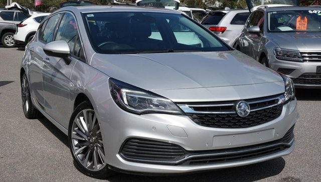Used Holden Astra BK MY18.5 RS-V, 2018 Holden Astra BK MY18.5 RS-V Silver 6 Speed Sports Automatic Hatchback