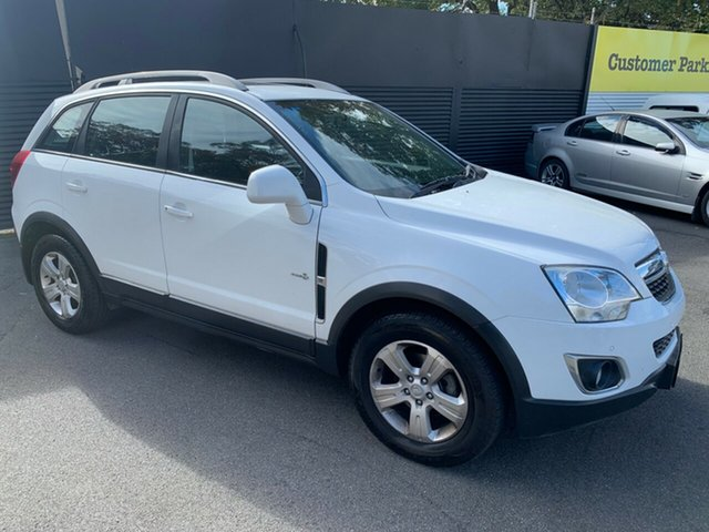 Used Holden Captiva CG Series II 5 AWD, 2011 Holden Captiva CG Series II 5 AWD White 6 Speed Sports Automatic Wagon