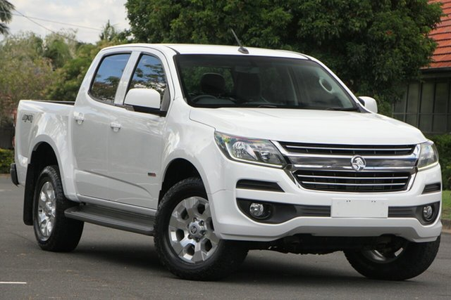 Used Holden Colorado RG MY17 LT Pickup Crew Cab, 2016 Holden Colorado RG MY17 LT Pickup Crew Cab White 6 Speed Sports Automatic Utility