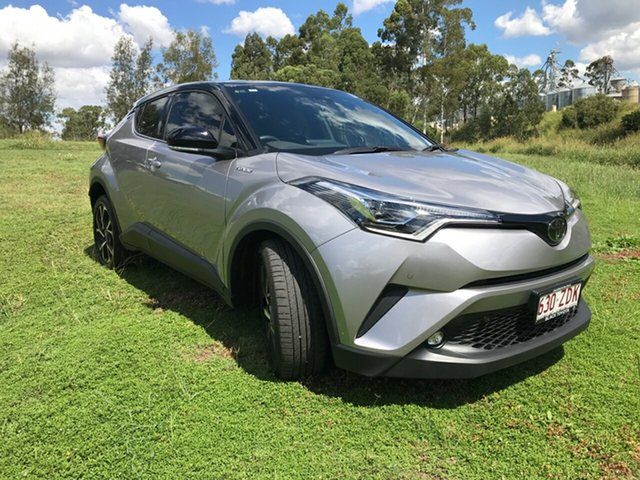 Used Toyota C-HR NGX10R Koba S-CVT 2WD, 2019 Toyota C-HR NGX10R Koba S-CVT 2WD Shadow Platinum & Black Roof 7 Speed Constant Variable Wagon