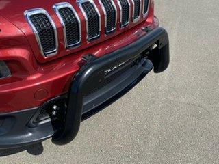 2014 Jeep Cherokee KL MY15 Longitude Red 9 Speed Sports Automatic Wagon