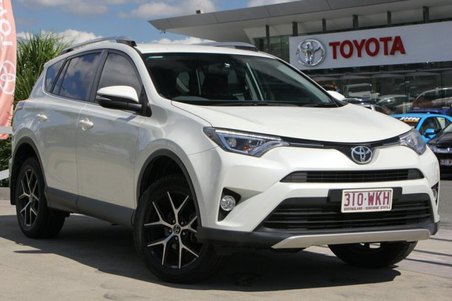 Used Toyota RAV4 ASA44R GXL AWD, 2016 Toyota RAV4 ASA44R GXL AWD Crystal Pearl 6 Speed Sports Automatic Wagon