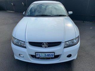 2006 Holden Crewman VZ MY06 S White 6 Speed Manual Utility.