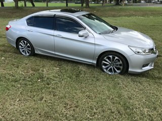 2014 Honda Accord 9th Gen MY14 V6L Silver 6 Speed Sports Automatic Sedan