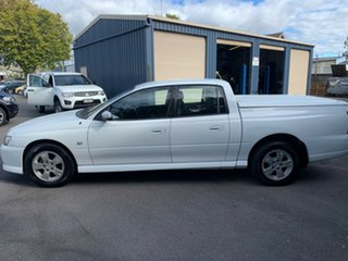 2006 Holden Crewman VZ MY06 S White 6 Speed Manual Utility