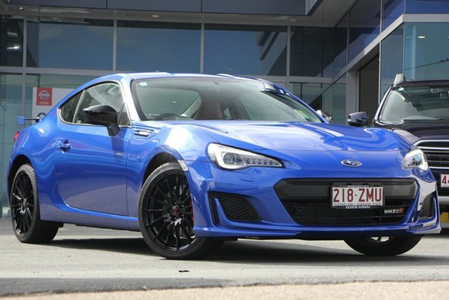 Demo Subaru BRZ Z1 MY20 TS, 2019 Subaru BRZ Z1 MY20 TS WR Blue 6 Speed Sports Automatic Coupe