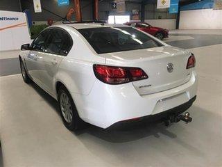 2016 Holden Commodore VF II Evoke Heron White 6 Speed Automatic Sedan.