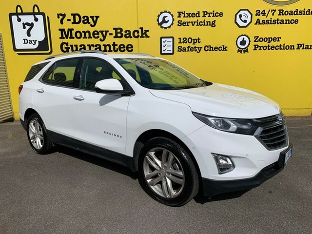 Used Holden Equinox EQ MY18 LTZ AWD, 2018 Holden Equinox EQ MY18 LTZ AWD Summit White 9 Speed Sports Automatic Wagon
