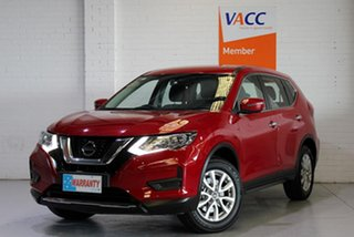 2017 Nissan X-Trail T32 Series II ST X-tronic 2WD Red 7 Speed Constant Variable Wagon.