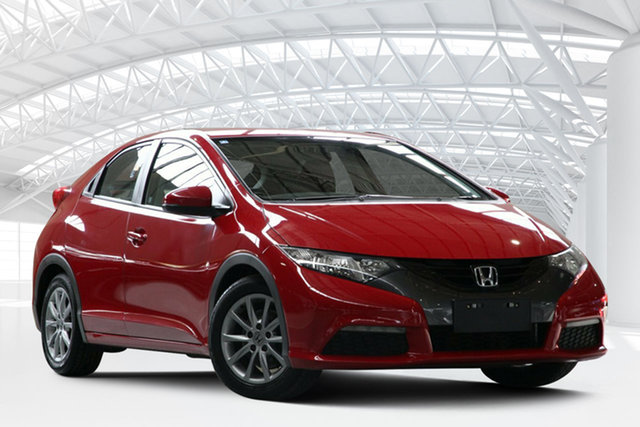 Used Honda Civic FK VTi-S, 2012 Honda Civic FK VTi-S Milano Red 5 Speed Automatic Hatchback