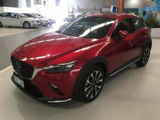 2019 Mazda CX-3 DK MY19 Akari (FWD) Soul Red Crystal 6 Speed Automatic Wagon.