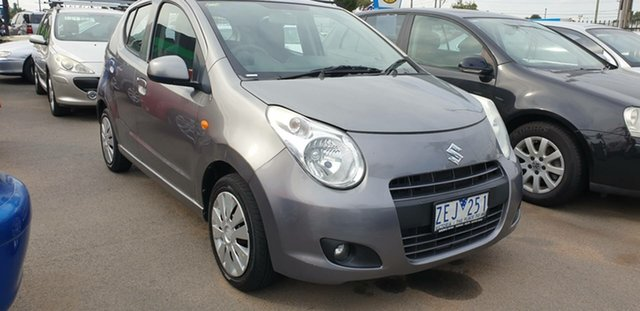 Used Suzuki Alto GF GL, 2012 Suzuki Alto GF GL Grey 5 Speed Manual Hatchback