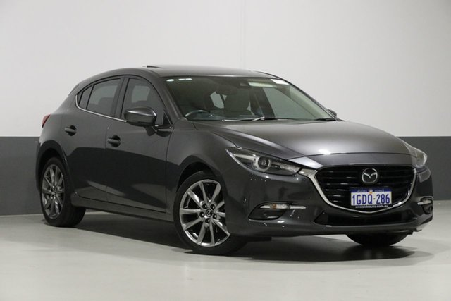 Used Mazda 3 BN MY17 SP25 Astina, 2016 Mazda 3 BN MY17 SP25 Astina Grey 6 Speed Automatic Hatchback