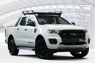 2019 Ford Ranger PX MkIII MY19 Wildtrak 2.0 (4x4) White 10 Speed Automatic Double Cab Pickup.